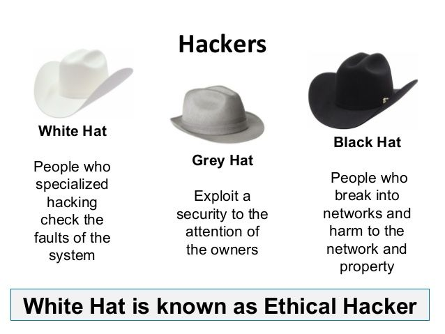 begin a career in ethical hacking-> Types of hackers